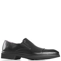 Мужские туфли Aldo Brue из черной кожи, фото