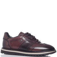 Мужские туфли Roberto Serpentini из кожи коричневого цвета, фото