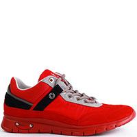 Кроссовки Cesare Paciotti красного цвета, фото