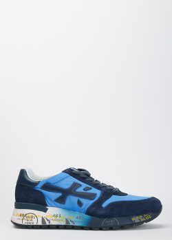 Мужские кроссовки Premiata синего цвета, фото