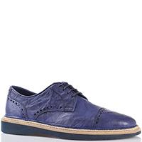 Туфли-броги Gianfranco Butteri синие, фото