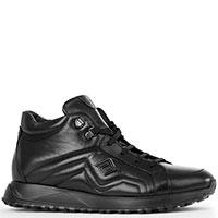 Черные ботинки Luca Guerrini на меху, фото