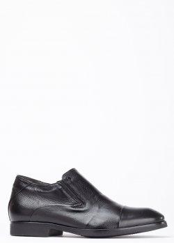Туфли на меху Mario Bruni черного цвета, фото