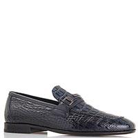 Классические туфли Roberto Serpentini без шнуровки из черной замши, фото