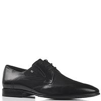 Кожаные туфли Roberto Serpentini черного цвета, фото