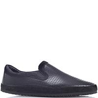 Туфли Gianfranco Butteri черного цвета с перфорацией, фото