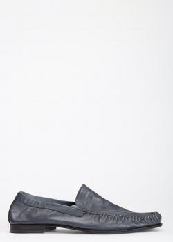 Мягкие мокасины Pakerson темно-синего цвета, фото