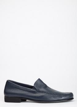 Туфли-лоферы Pakerson из фактурной кожи, фото