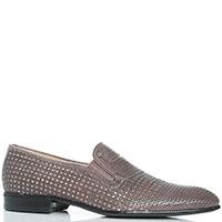 Туфли-лоферы Giampiero Nicola с перфорацией, фото