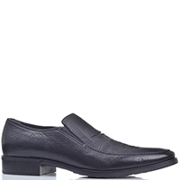 Черные туфли Aldo Brue из зернистой кожи, фото