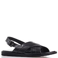 Перфорированные сандалии Good Man черного цвета, фото