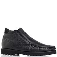 Зимние ботинки Luca Guerrini из зернистой кожи, фото