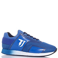 Кроссовки Trussardi Jeans синего цвета, фото