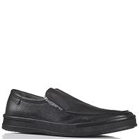 Зимние туфли Aldo Brue из черной зернистой кожи, фото