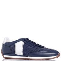 Темно-синие кроссовки Fabi с перфорацией, фото