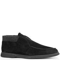 Черные туфли Aldo Brue с шерстяной подкладкой, фото