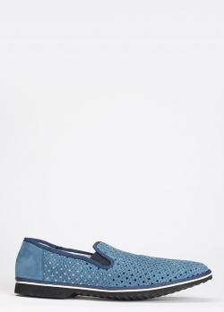 Мужские туфли Gianfranco Butter из плетеной кожи, фото