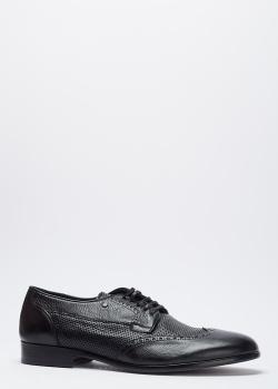 Черные туфли Mario Bruni из кожи, фото
