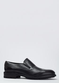 Кожаные туфли Mario Bruni с декором-перфорацией, фото