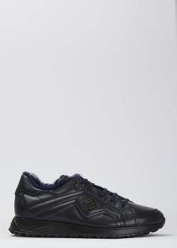 Синие кроссовки Luca Guerrini на меху, фото