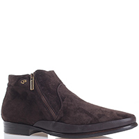 Замшевые ботинки Dino Bigioni коричневого цвета, фото