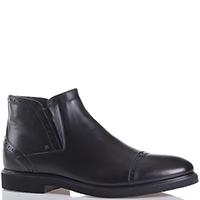 Черные ботинки Luca Guerrini из гладкой кожи, фото