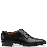 Черные туфли Gucci из глянцевой кожи, фото