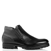 Черные ботинки Mario Bruni без шнуровки, фото