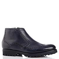 Ботинки-броги Mario Bruni темно-синего цвета, фото
