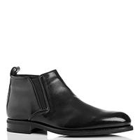 Черная ботинки Valentino на молнии, фото