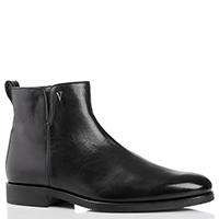 Черная ботинки Valentino из гладкой кожи, фото