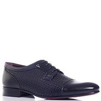 Туфли черные Valentino со значком-лого, фото
