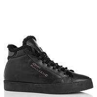 Черные ботинки John Galliano из гладкой кожи, фото