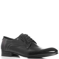 Черные туфли Mario Bruni с удлиненным носком, фото