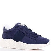 Темно-синие кроссовки Stokton на толстой подошве, фото
