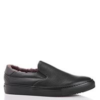 Утепленные туфли FABI черного цвета, фото