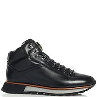 Черные кроссовки Fabi на меху, фото