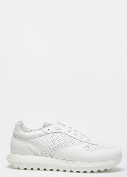 Мужские кроссовки Stokton из кожи с перфорацией, фото
