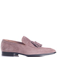 Мужские туфли Fiorangelo из светло-коричневой замши, фото