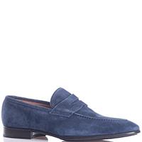 Синие туфли Fiorangelo с вытянутым носком, фото