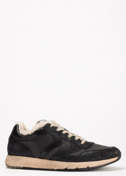 Зимние кроссовки Voile Blanche черного цвета, фото