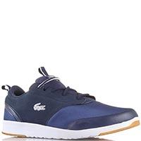 Мужские кроссовки Lacoste синего цвета, фото