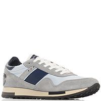 Кроссовки Quattrobarradodici голубые с серым, фото