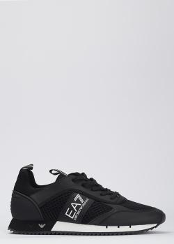 Кроссовки EA7 Emporio Armani черного цвета, фото