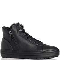 Черные ботинки Baldinini с боковыми молниями, фото
