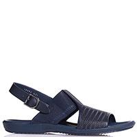 Мужские сандалии Gianfranco Butteri синего цвета, фото