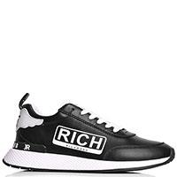 Мужские кроссовки John Richmond черного цвета, фото