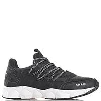Черные кроссовки Philipp Plein с сеткой, фото