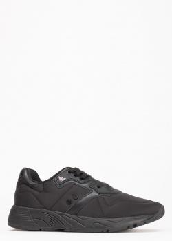 Черные текстильные кроссовки Emporio Armani, фото