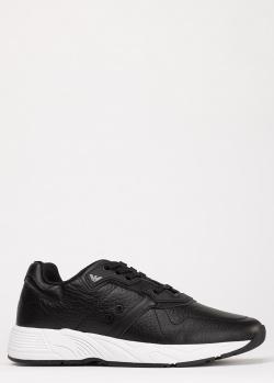 Кроссовки Emporio Armani в черном цвете, фото